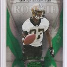 2008 Leaf Certified Adrian Arrington Emerald Rookie #4/5