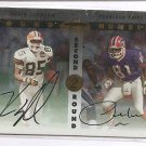 1999 Contenders Kevin Johnson/Peerless Price Round Numbers Dual Auto