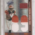 2008 Absolute Jerome Simpson Jumbo 3 Color Patch/Ball #6/10