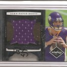 2008 Leaf Limited John David Booty Jumbo Jsy/Auto Rookie #1/15