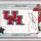 2008 LR&S Longevity Donnie Avery College Logo Patch Auto #3/5