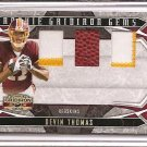 2008 Gridiron Gear Devin Thomas Dual Patch / Ball Rookie #22/25