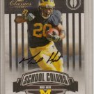 2008 Donruss Classics Mike Hart School Colors Auto #6/50