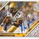 2009 UD Draft Michael Johnson Rookie Auto