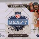 2009 Prestige Graham Harrell NFL Draft Auto #66/100