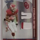 2008 Absolute Allen Patrick College Materials 2 Color Patch #10/10