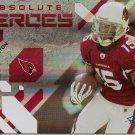 2009 Absolute Steve Breaston Heroes #17/25
