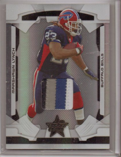 2008 LR&S Marshawn Lynch 4 Color Patch #10/10