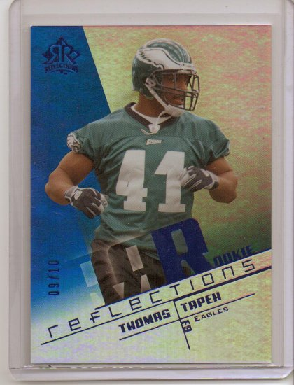 2004 Reflections Thomas Tapeh Blue Rookie #9/10