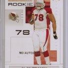 """2007 Playoffs Alan Branch """"No Auto"""" Rookie #8/10"""