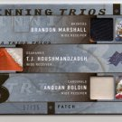 2009 SPX B. Marshall / Houshmandzadeh / Boldin Triple Patch #17/25