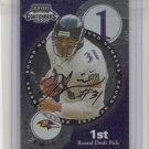 2000 Contenders Jamal Lewis / T. Taylor Dual Rookie Auto