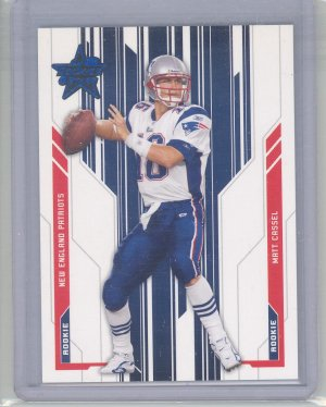 2005 LR&S Matt Cassel Blue Rookie #5/10