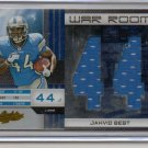 2011 Absolute Jahvid Best War Room Jumbo Jersey #8/10