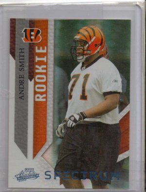 2009 Absolute Andre Smith Spectrum Rookie #2/5
