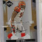 2008 Limited Pat Sims Monikers Auto RC #10/10