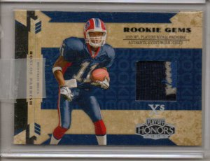2005 Honors ROscoe Parrish Hidden Gems 3 Color Patch RC #18/25