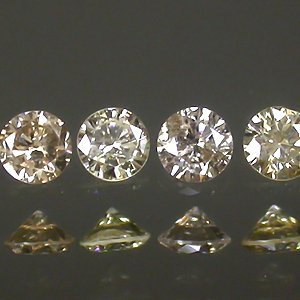 LOT!!! 12Pcs/1.22 ct Natural Sparkling Champagne Diamonds