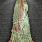 Green wedding dress 050