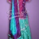 Beautiful Magenta Gharara 0100