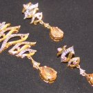 Gold plated Silver Set J 01