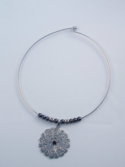 Antique Snowflake Choker