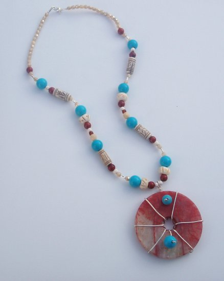 Fire and Water Necklace