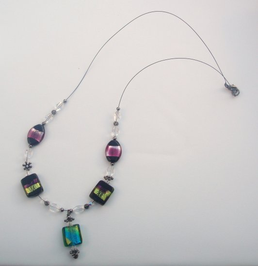 Classy Glass Necklace