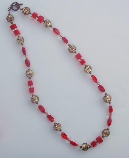 Antique Lady Necklace