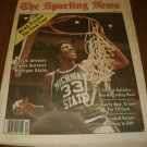 The Sporting News March 31, 1979 Earvin Magic Johnson Michigan St. on Cover