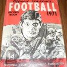 Official Collegiate Football Record Book 1971 Yr issue Ed Marinaro Cornell on Cover