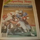 The Sporting News July 11, 1981 issue Tony Dorsett Dallas Cowboys on Cover
