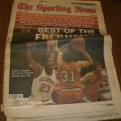 The Sporting News February 14, 1983 issue Wayman Tisdale Oklahoma Sooner on Cover