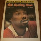 The Sporting News March 15, 1975 issue Julius Erving New York Nets on Cover