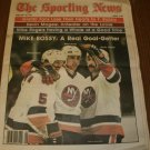 The Sporting News February 28, 1981 issue Mike Bossy NY Islanders on Cover