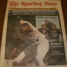 The Sporting News August 22, 1981 issue Goose Gossage NY Yankees on Cover