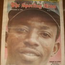 The Sporting News September 25, 1976 Mickey Rivers NY Yankees on Cover