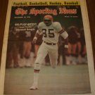The Sporting News December 18, 1976  issue  Isaac Curtis Cincinnati Bengals on Cover