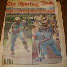 The Sporting News August 30, 1980 issue Ron Leflore and Andre Dawson on Cover