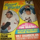 Sport World April 1970 issue Frank Robinson and Tom Seaver