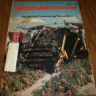 American Vegetable Grower Magazine August 1984 issue Tomatoes Profits