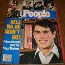 People Weekly Magazine January 26 1987 Prince Edward