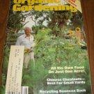 Organic Gardening Magazine August 1982 issue Chinese Chestnuts
