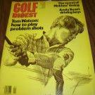 Golf Digest April 1979 issue Tom Watson
