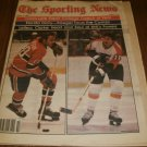 The Sporting News April 5, 1980 issue Bobby Clarke Philadelphia Flyers