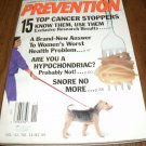 Prevention Magazine November 1990 issue 15 top Cancer Stoppers