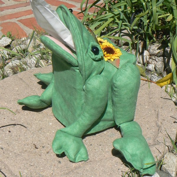 Frog Tissue Box Cover