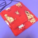 Dog Names on Red Small Destiny Purse