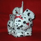 Handcrafted Dog Dalmatian Spots Tissue Box Cover