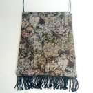 Brown Cats Tapestry Fabric Purse